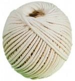 Cordeau coton tressé 25m fil diamètre 2,5mm