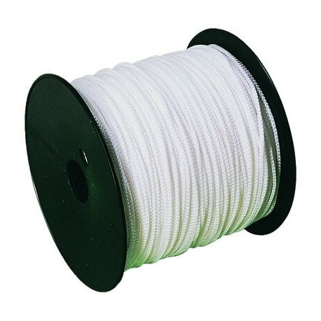 Cordeau nylon tressé 200m fil diamètre 1,5mm