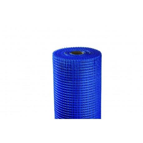 Rouleau de grille de verre 0,33m*50ml bleu