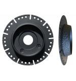 Disque MASTER CC pour PVC diamètre 125mm alésage 22.23mm