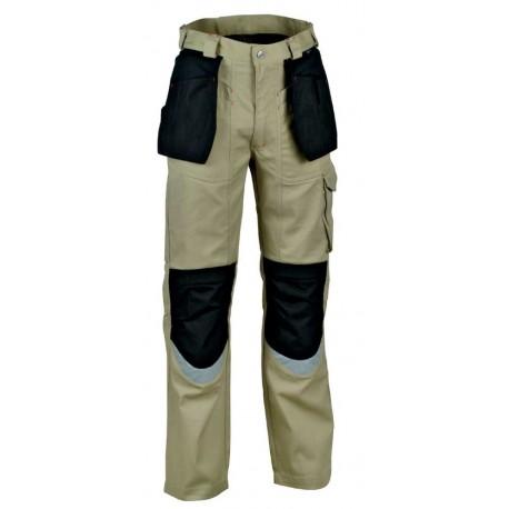 Pantalon CARPENTER Beige/Noir